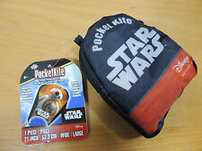 "Pocketkite Star Wars BB-8 Frameless Kite 21"" Wide Nylon in Carrying Pouch"