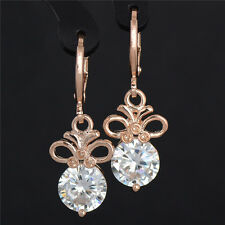 Your nice choice 18k Gold Filled Cubic Zirconia lady's dangle earrings