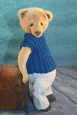 OOAK CROCHETED BEAR IN VINTAGE STYLE  by Alice Bears