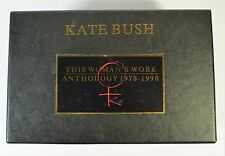 KATE BUSH THIS WOMAN'S WORK ULTRA RARE 8 X CASSETTE BOXSET+BOOKLET +STICKERS!