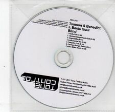(DS225) Tomson & Benedict ft Bantu Soul, Blind - 2011 DJ CD