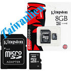 Kingston 8GB 8G Class 10 Micro SD Micro SDHC TF Flash Memory Card HD Video
