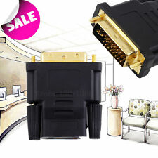 DVI Male to HDMI Female adapter Gold-Plated NEW M F Converter For HDTV LCD FE