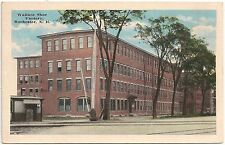 Wallace Shoe Factory in Rochester NH Postcard
