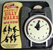 Men's Ministry of Silly Walks Wrist Watch in Nice Tin Gift Box - Monty Python