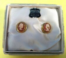 Cameo Earrings by Hobson 1-20 – 12K Gold Filled