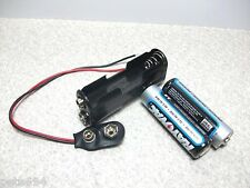 3.0 Volt DC  AA Battery Holder w Snap Connector  ~ B8