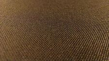 "Cordura ® Dark Brown 1000D Outdoor Nylon Fabric 60"" Wide Urethane Coated Durable"