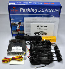 CISBO Front Parking 4 Sensor Kit with Audio Buzzer Alarm LED Display