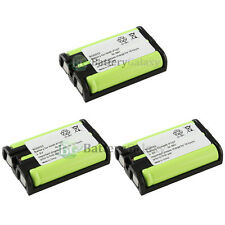 3 Cordless Phone Battery for Panasonic HHR-P107 HHRP107