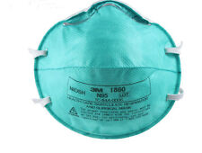 3M 1860 N95 REGULAR Health Care Particulate  Surgical Mask 120 PER CASE) FILTERS