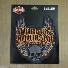 Harley Davidson Authentic Patch - Gothic Wings - Medium Emblem Badge