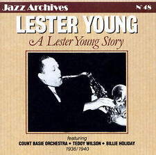 FREE US SH (int'l sh=$0-$3) NEW CD Young, Lester: Lester Young Story Import