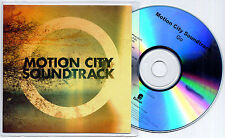 MOTION CITY SOUNDTRACK Go 2012 UK 11-trk numbered promo test CD