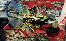 POWER RANGERS DINO SUPER CHARGE SPIKE BATTLE SWORD LIGHTS AND SOUNDS