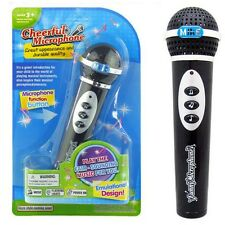Children Toys Microphone Mic Karaoke Singing Kid Funny Gift Music Toy Black New