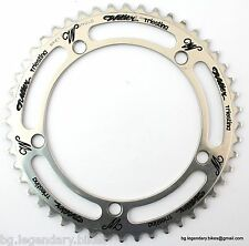 VGC  Vintage Eroica Campagnolo CHAINRING ENGRAVED WILIER TRIESTINA Record 48T