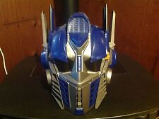 Used But in Good Condition Optimus Prime Voice a changer Helmet