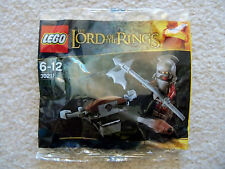 LEGO Lord Of The Rings LOTR - Rare - 10x Uruk-Hai with Ballista 30211 - New