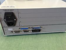 USED TSK CT25-MT CABLE TESTER & 2 SCSI CABLES 115/230 VAC CT 25 SN.1187  40 LEIS