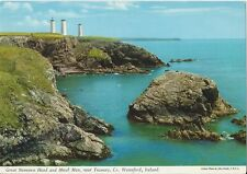 Postcard  Ireland Great Newtown Head & Metal Man Tramore Waterford Munster