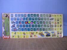 RARE sandylion spongebob squarepants keyboard stickers computer typewriter ©2004