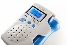 ANGELSOUNDS JPD-100B Fetal Doppler 3MHZ + Gel, Battery, Charger, FDA, US Seller