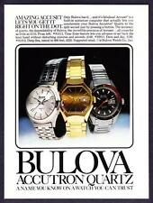 1978 Accutron Quartz Time Zone Day/Date Deep Sea 3 Watch photo vintage print ad