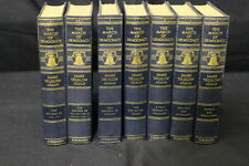 Complete THE MARCH OF DEMOCRACY 1960's by James Truslow Adams, 8 Volumes