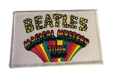 The Beatles Magical Mystery Tour Embroidered Logo Iron On Patch New Licensed!
