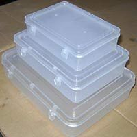 Clear plastic Transparent storage boxes/ Jewellery box (set of 2 boxes@ Rs.187)
