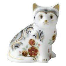 "Royal Crown Derby 3"" NICE KITTEN Paperweight"