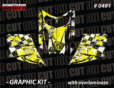 SKI-DOO REV MXZ SNOWMOBILE SLED WRAP GRAPHICS STICKER DECAL KIT 03-07 0491