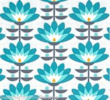 Atrium - Deco Bloom - Mint by Joel Dewberry - FQ or yardage available
