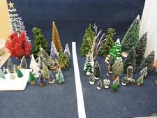 Village Trees Huge Lot of 50, Dept. 56 & Others (h1383)
