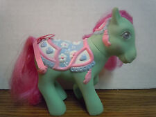 MY LITTLE PONY Green Tassles Mery-Go-Round Ponies MGR Collection 1988 G1 VTG