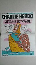 Charlie Hebdo 22 avril 2015  n° 1187  comme neuf