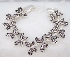 Silver Dragonfly Bracelet Magnetic Clasp Fashion Jewelry NEW So Lovely!