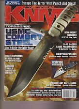 TACTICAL KNIVES MAGAZINE JULY 2012, THE CUTTING EDGE OF SURVIVAL.
