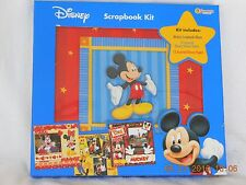 DISNEY Mickey Scrapbook Kit Album Sandylion Stickers  Memories