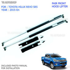 Front Bonnet Hood Lift Up Struts Shock Fit Toyota Hilux SR5 Revo 2015 2016 2017