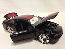 2010 Ford Mustang GT, Collectible, Diecast 1:24 Scale, Jada Toys, Black, DSP