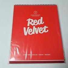 Red Velvet 2017 Season's Greeting Desk Calendar Official Original goods K-POP SM