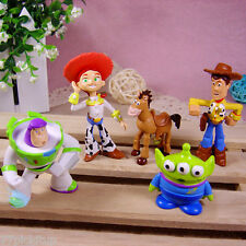 Toy Story Buzz Woody 5 Figure Playset Cake Topper Toy Doll Set= U.S. SELLER
