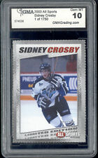 2003 Sidney Crosby All Sports Magazine Rookie  Gem Mint 10  1 of 1750