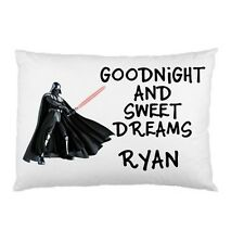 DARTH VADER Star Wars Character Personalized childrens kids bed pillow case