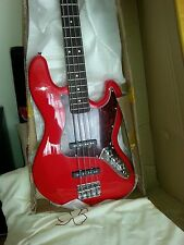 Quality red  Jazz style Bass Reduced now £95 Brand New UIK stock