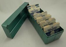 LOT OF 57 VIEW-MASTER REELS SAWYER'S WONDERS OF THE WORLD (U.S. Parks 50s) +CASE