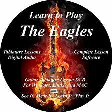 Eagles Guitar TABS Lesson CD 98 Songs + Backing Tracks + BONUS!
