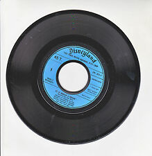 """LES TROIS PETITS COCHONS P'TIT LOUP Vinyl 45T 7"""" Film MOULIN POIVRE Enfant RARE"""